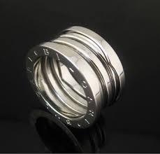 bvlgari b zero1 3 band ring in 18kt white gold