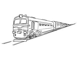 Train Locomotive 143 Transport Coloriages Imprimer