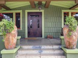 inviting craftsman style home entrance