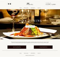 Restaurant Website Design Restaurant Website Design Morrels Keswick Bunting