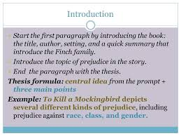 types of prejudice in to kill a mockingbird ppt video online  5 introduction