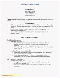Food Service Skills Resume Resume For Food Service Inventions Of Spring