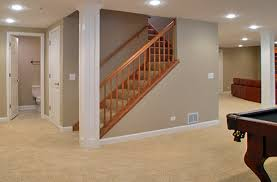 Finish Basement Design Simple Finished Basement Remodeling Contractor Mission Creek Contracting
