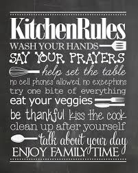 For Kitchen Art Kitchen Rules Free Printable Like You Kitchen Rules And Family