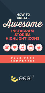 Poster Design Instagram How To Create Awesome Instagram Stories Highlight Icons