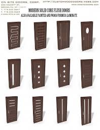 Modern Flush Door Designs Odern Interior Doors Modern Flush Doors Custom Doors And