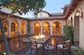 spanish house plans with inner courtyard lovely tuscan style home plans thoughtyouknew