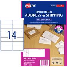 Avery Address Lables Avery Address Labels With Smooth Feed For Laser Printers 99 1 X