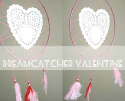 History Of Dream Catchers For Kids How To Valentine Doily Dreamcatcher My Poppet Makes 91