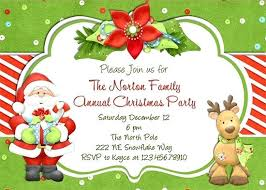 Christmas Wording Samples Birthday Party Invitation Templates Fun For Holiday Potluck Wording