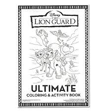 Small Picture Amazoncom Lion Guard Coloring and Activity Book with 2 Poster