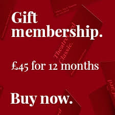 looking for the perfect gift for theatre treat them to our theatrecard clic membership for a year s worth of exclusive s