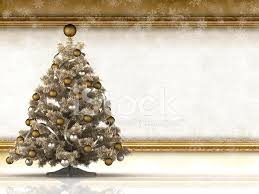 Blank Christmas Background Christmas Background Xmas Tree And Blank Paper Sheet Stock Photos