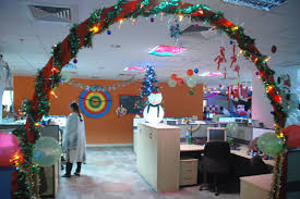 christmas office decorating. Christmas Arch Office Decorating