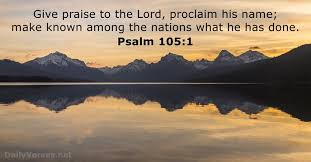 Image result for proclaim His name