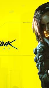 Cyberpunk 2077 Wallpaper 4k Yellow