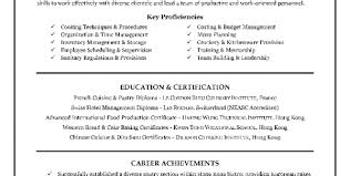 Resume Objectives For Hospitality Industry Resume Template For