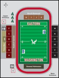 Eastern Washington Football Seating Chart Ewu Football Ticket Information The Spokesman Review
