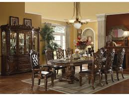 Acme Furniture Vendome Traditional Hutch  Buffet Del Sol - Dining room table and china cabinet