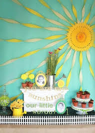 You Are My Sunshine Birthday Party Background Decors Stage