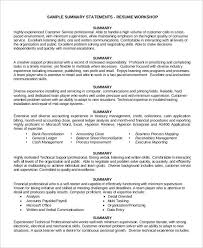 Quick Learner Resume Beauteous Quick Learner Resume Elegant Resume Summary Statement Examples From