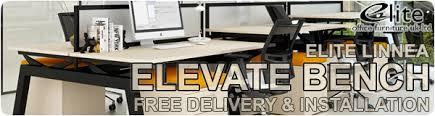 posh office furniture. elite linnea elevate bench office furnit posh furniture g