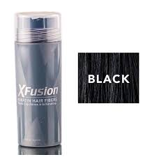 Xfusion Black Keratin Hair Fibers Size 0 98 Oz