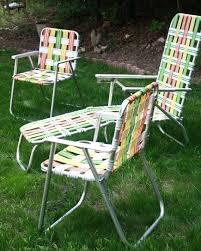 retro aluminum patio furniture. Folding Lounge Chair Outdoor Retro Aluminum Woven Patio Furniture By Rocking O