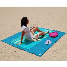 how great for the beach the sandless beach mat developed for military