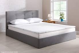 mattress topper. Ovela Bamboo Memory Foam Mattress Topper (Queen)