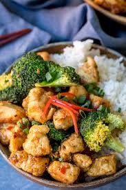 Scrape down the side of the machine if you need to to get everything evenly 'riced'. Crispy Chicken With Broccoli Nicky S Kitchen Sanctuary