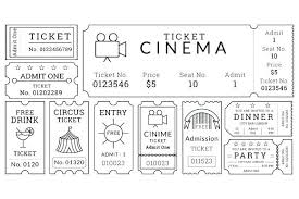Admission Ticket Template Free Download Ticket Admission Template Admission Ticket Template Dinner Ticket