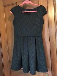 Iz Byer California Dress Size Chart Womens Juniors Iz Byer Size Large L Open Back Dress Black
