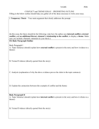 the alchemist literary analysis essay conflict essay outline doc