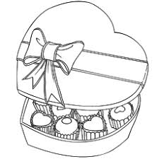 The Box Of Chocolates top 25 free printable valentines day coloring pages online on can you put food coloring in chocolate