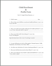 Daycare Contract Template Free Home Daycare Contract Template