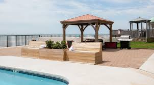 garden city sc hotel view grill bar service pool area