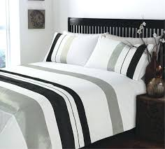 grey and white duvet medium size of stunning king size ripple and plain stripe grey white duvet cover bedding set grey and white striped duvet