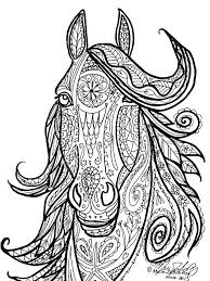 Free Printable Horse Coloring Pages For Adults At Getcoloringscom