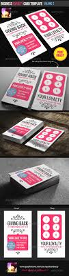 loyalty card template business loyalty card template vol 2 by quickandeasy graphicriver