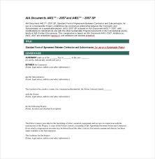 Subcontractor Agreement Format 45 Best Of Subcontract Agreement Format Damwest Agreement
