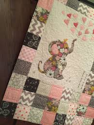 Elephant Baby Quilt Pattern