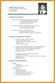 On Job Training Resume Resume Format Resume For Job Application 21