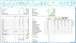 Costing Sheet Template Excel – Shopsapphire