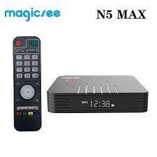Magicsee N5 Max Amlogic S905X3 Android 9.0 TV BOX 4GB RAM 32GB 64GB ROM  2.4+5G Dual Wifi Bluetooth4.1 Smart Box 8K Set Top Box Set-top Boxes