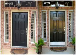 full image for best coloring painting a front door black 123 painting a wood front door
