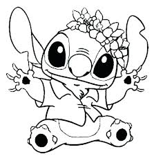 cute baby disney coloring pages cute coloring pages stitch coloring pages stitch in outfit in lilo