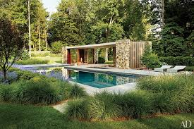 pool house. A Poolhouse In Westport, Connecticut, Designed By New York City Architecture Firm SPAN, Pool House L