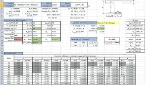 Downloadable Excel Spreadsheets Structural Engineering Excel Spreadsheets Download And Access
