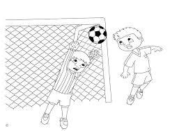 Kleurplaat Goal Desenhos Para Colorir